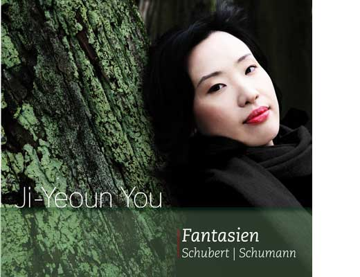 Ji-Yeoun You, Fantasien. Schubert, Schumann. CD Digipac. Artwork