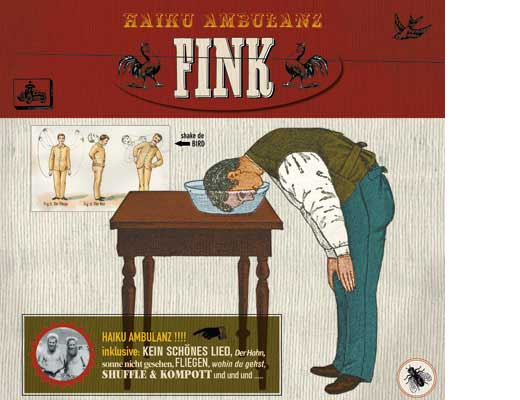 Fink – Haiku Ambulanz. Digipac und LP Artwork
